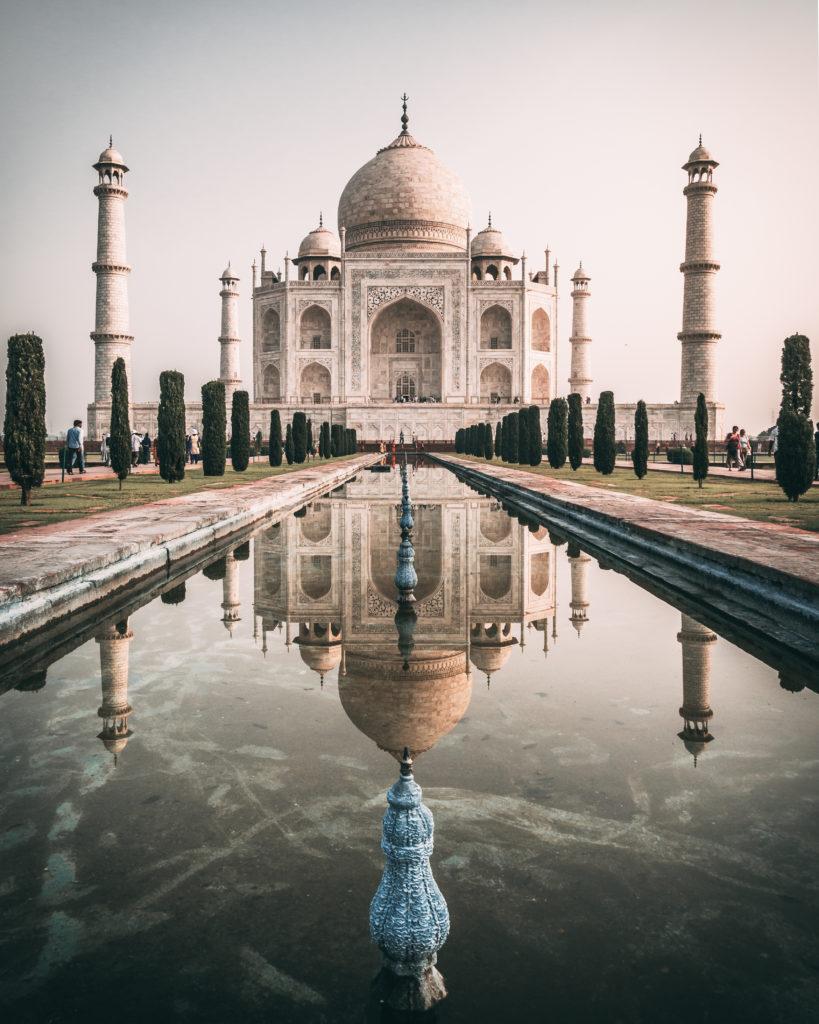 monument du taj mahal à agra en inde